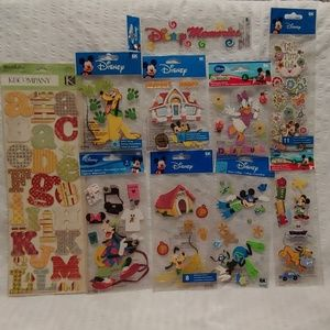 Disney Scrapbooking/Cardmaking Lot (SB Lot #15)